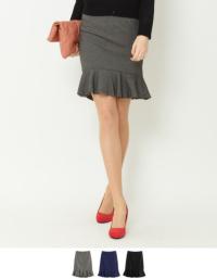 ティティベイト 裾フリルスカート
