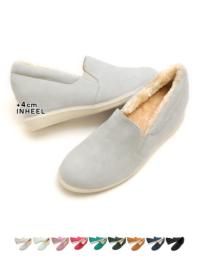 ボア入りインヒールスリッポン【ファッション・アパレル 靴レディース】/大人女性へおすすめスタイルを提案するプチプラカジュアル通販のティティベイト(titivate) 公式通販/titivate(ティティベイト)/KJP0187/kjp0187