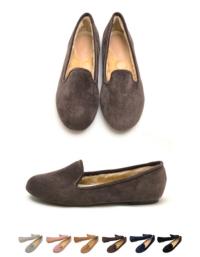 ボア入りコーデュロイオペラシューズ【ファッション・アパレル 靴レディース】/大人女性へおすすめスタイルを提案するプチプラカジュアル通販のティティベイト(titivate) 公式通販/titivate(ティティベイト)/K6782/k6782