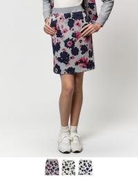 ティティベイト 花柄スウェットスカート