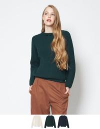 シンプルニットトップス【ファッション・アパレル レディースニット】/大人女性へおすすめスタイルを提案するプチプラカジュアル通販のティティベイト(titivate) 公式通販/titivate(ティティベイト)/AMJP0376/amjp0376