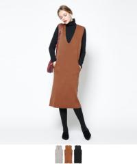 ノースリーブニットワンピース【メール便可/100】【ファッション・アパレル レディースワンピース】/大人女性へおすすめスタイルを提案するプチプラカジュアル通販のティティベイト(titivate) 公式通販/titivate(ティティベイト)/AMXP0765/amxp0765