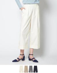 センタープレスワイドクロップドパンツ【メール便可/80】【ファッション・アパレル レディースパンツ】/大人女性へおすすめスタイルを提案するプチプラカジュアル通販のティティベイト(titivate) 公式通販/titivate(ティティベイト)/ANXP0834/anxp0834