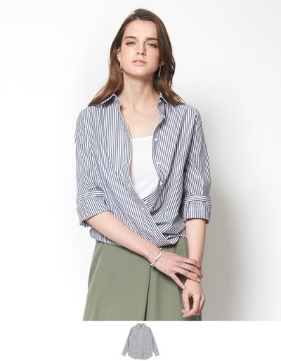 カシュクールシャツ【メール便可/50】