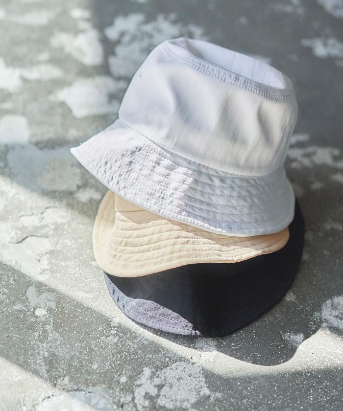 titivate バケットハット UV 紫外線 帽子 コットン