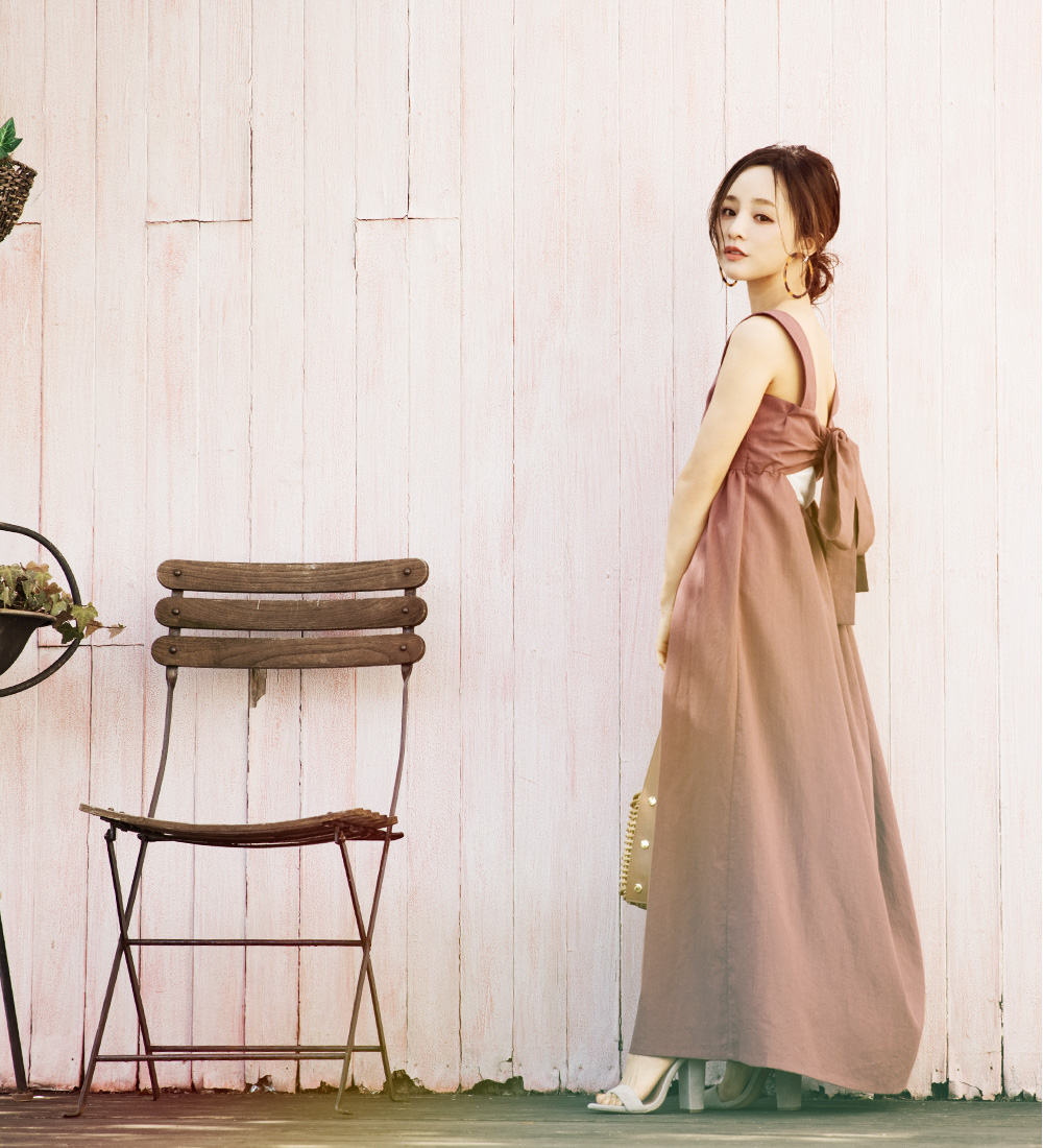 akiko19ss01 style01 1 - 今すぐ欲しい!低身長モデル田中亜希子さん着用のワンピースは通販サイト「titivate」で買える