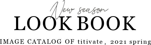 LOOKBOOK 2021 spring